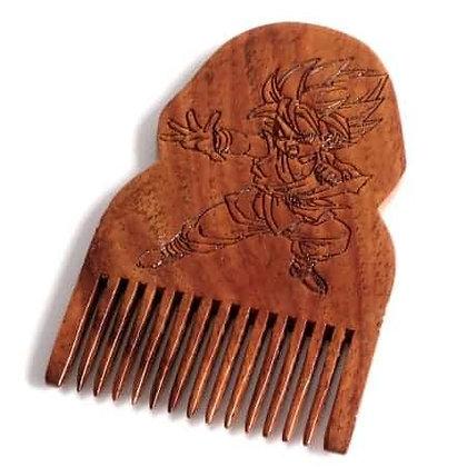 Dragon Ball Z Gohan Wooden Beard Comb