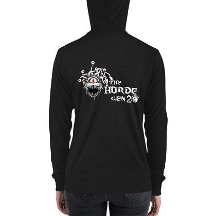 2nd Gen Horde Unisex zip hoodie