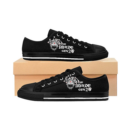 2nd gen Horde Black Women's Sneakers