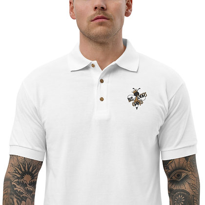 Be Dope Gang Embroidered Polo Shirt
