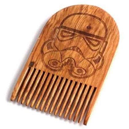 Star Wars Storm Trooper Wooden Beard Comb