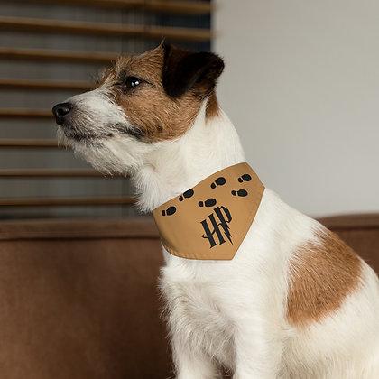 Marauder Map Pet Bandana Collar