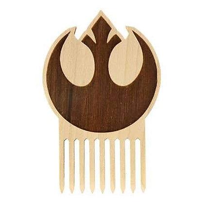Star Wars Rebel Alliance Wooden Beard Comb