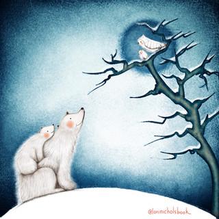 Polar bears and owls