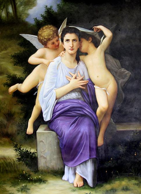 Angels Scarf 110cm x 175cm
