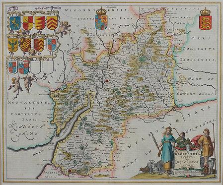 Map Scarf 135cm x 113cm