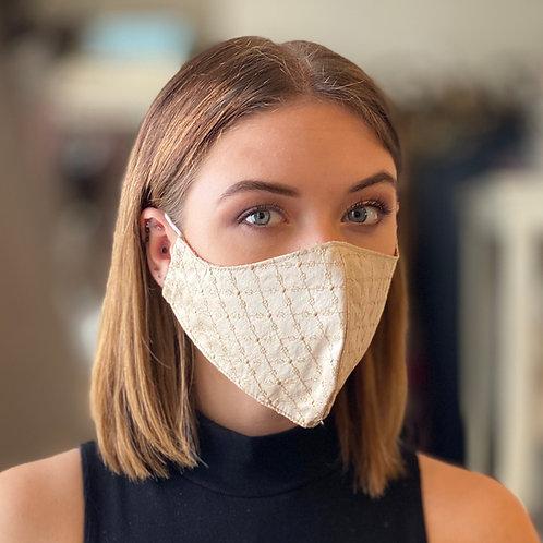 10 Assorted Pure Silk Hand Made Face Masks