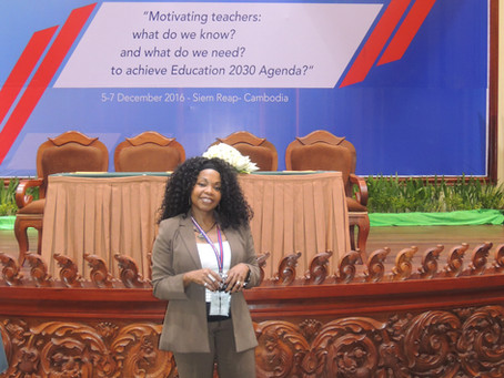 UNESCO Conference in Cambodia