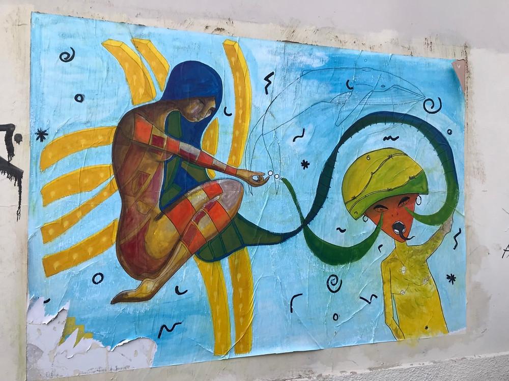 (El arte de la calle en Valparaiso)