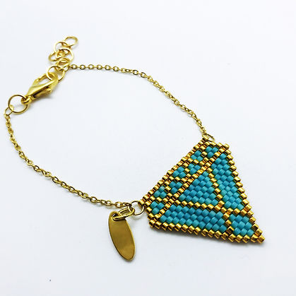 BRACELET DIAMOND T&GOLD 4