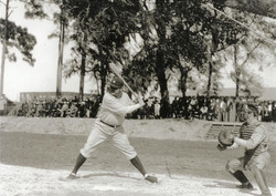 Babe Ruth in St Pete Florida 1929-1