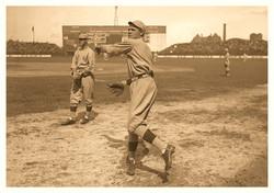 1916 Babe Warming Up Boston RdSx