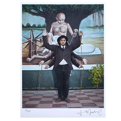 A Chaplin's parade by Cristina de Middel (SIGNED)