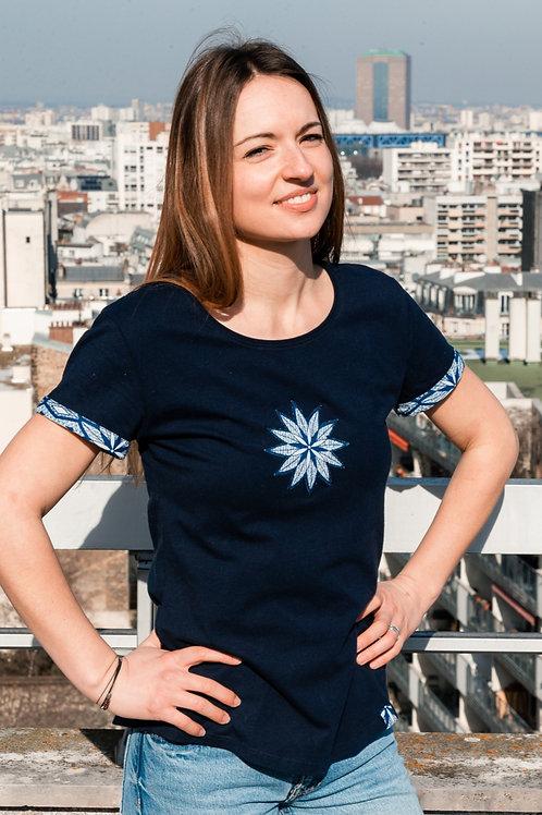 T-shirt femme 100% coton bio Cœur Végétal
