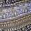 Thumbnail: Buckle Maxi Skirt - black, blue, cream- one size