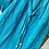 Thumbnail: Solid Harem Pants - teal - one size