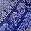 Thumbnail: Buckle Maxi Skirt - indigo, periwinkle, white - one size