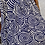 Thumbnail: Buckle Maxi Skirt - navy, cream - one size