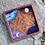 Thumbnail: Handpainted Lunar Phase Crystal Grid Tray