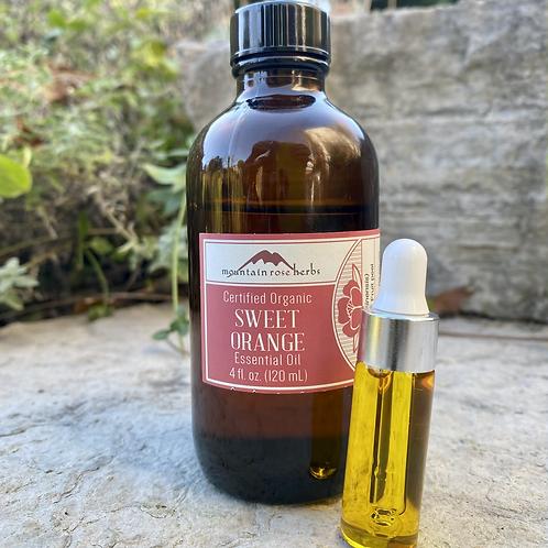 Sweet Orange essential oil 5ml, certified organic