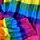 Thumbnail: Harem Pants - rainbow - one size