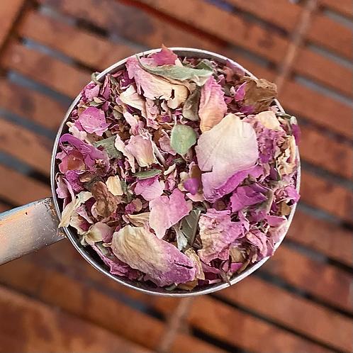 Pink Rose Petals, organic - 1 ounce