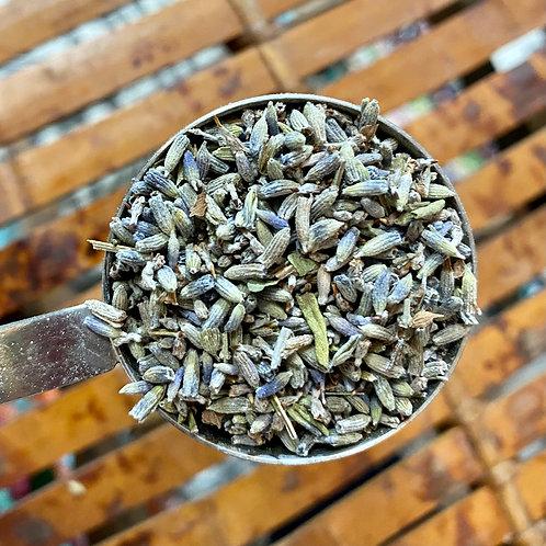 Lavender Flowers (English), organic - 1 ounce