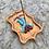 Thumbnail: Ceramic Multiple Incense Holder - tan, turquoise, lilac, maroon