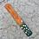 Thumbnail: Hand Painted Wooden Incense Burner - Tea Rose
