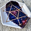 Thumbnail: Hand Painted Galaxy Sacred Geometry Ceramic Tray