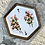 Thumbnail: Hand Painted Wild Rose Ceramic Tray