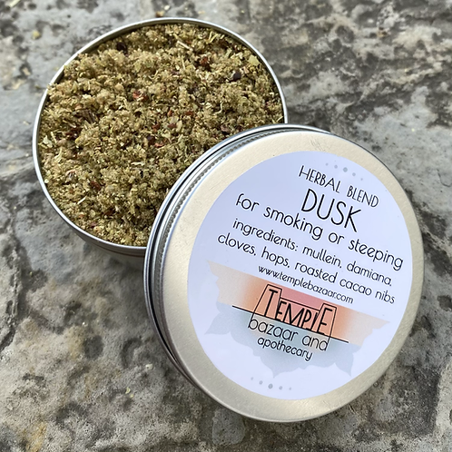 Dusk Herbal Blend 4 oz - for smoking or steeping