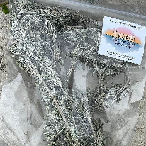 Organic Dried Wormwood Branches