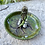 Thumbnail: Ceramic jewelry tray - Rocks against Stump