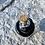 Thumbnail: Mini glass spell jar - Black Snake