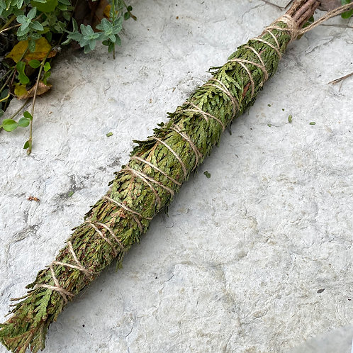 Giant Cedar Smudge Stick