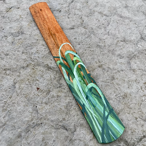 Hand Painted Wooden Incense Burner - Lemongrass