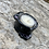 Thumbnail: Ceramic Incense and Tealight Holder - black, gray, lilac
