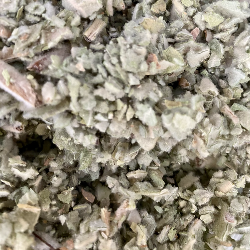 Organic dried Mullein leaf