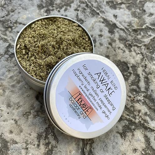 Awake Herbal Blend 4 oz - for smoking or steeping