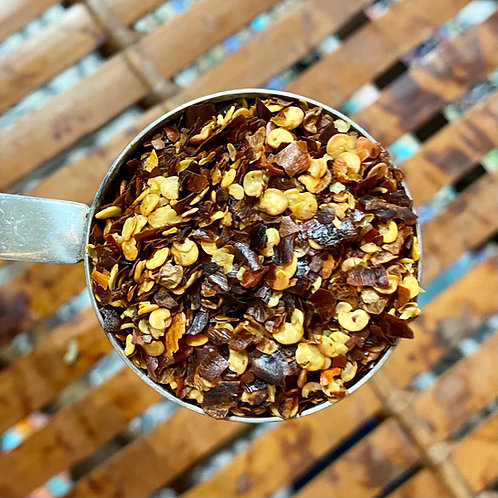 Chili Flakes, organic - 1 ounce