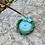 Thumbnail: Ceramic Incense and Tealight Holder - green, turquoise, purple