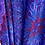 Thumbnail: Buckle Maxi Skirt - purple, red - one size