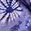 Thumbnail: Tie Dye Sarong Wrap - indigo - one size
