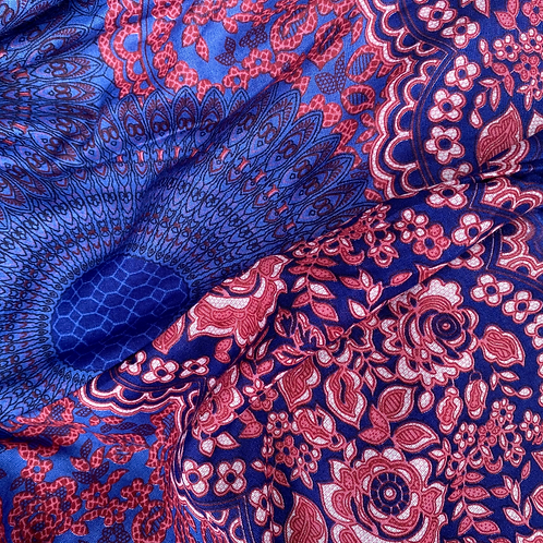 Harem Pants - indigo, pink, red - one size