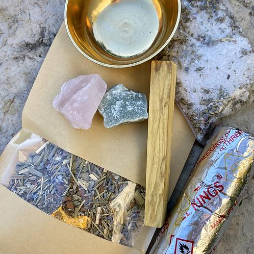 """Blessing and Bliss"" Sacred Incense Kit"