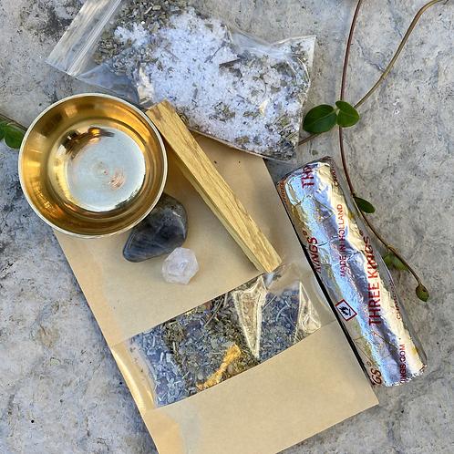 """Meditate and Manifest"" Sacred Incense Kit"