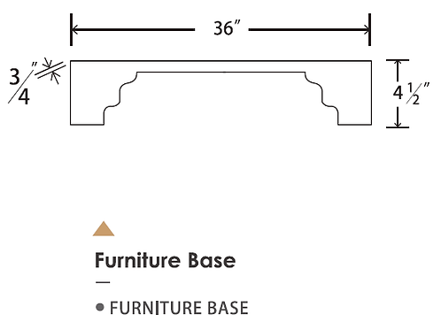 FURNITURE BASE