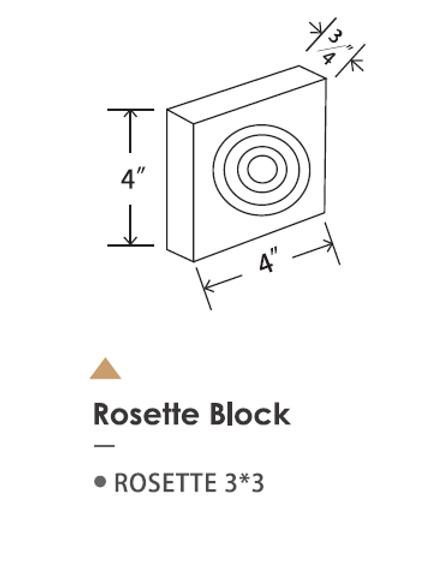 ROSETTE 3*3