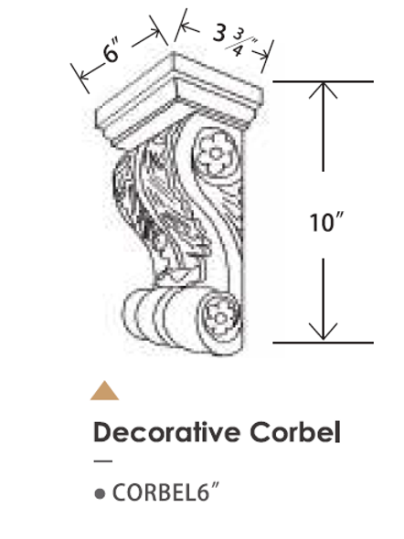 "CORBEL 6"""